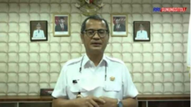 Bupati Nias Yaatulo Gulo Menghimbau Masyarakat Untuk Tetap Mematuhi Protokol Kesehatan Covid-19