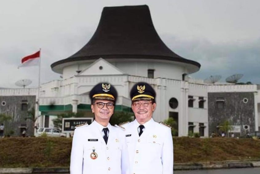 Upacara Pengambilan Janji Jabatan Dan Pelantikan Bupati dan Wakil Bupati Nias Oleh Gubernur Sumut