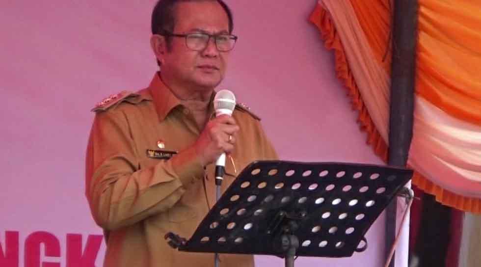 Pembukaan Pekan Inovasi Daerah Kabupaten Nias 2019 oleh Bapak Bupati Drs. Sokhiatulo Laoli, MM.