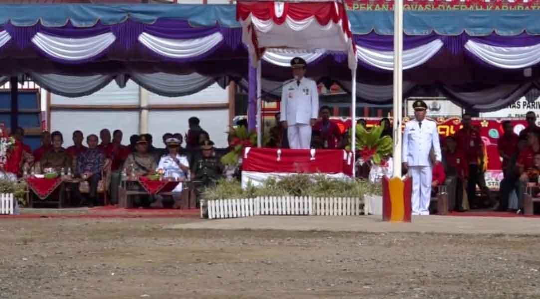 Upacara Peringatan Hari Jadi Kabupaten Nias Ke-149 Tahun 2019