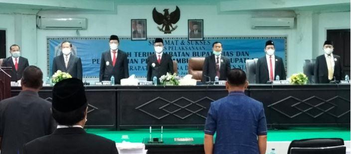 DPRD Kabupaten Nias Selenggarakan Rapat Paripurna Mendengar Pidato Bupati Nias