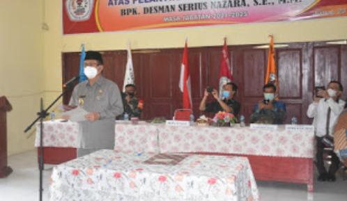 Bupati Nias Lantik Ketua STIE Pemnas Nias Masa bhakti 2021-2025